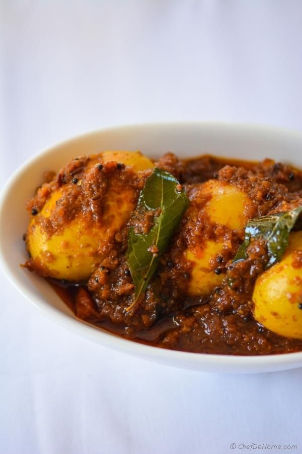 Indian Spicy Egg Curry