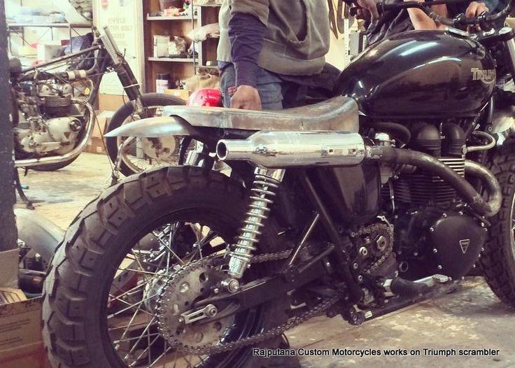 Triumph Motorcycles India Rajputana Custom