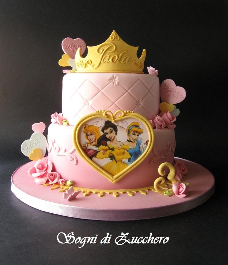 aurora cake | sogni di zucchero: Princess dream cake