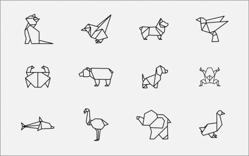 折り紙でつくった感じにデザインされたかわいいアイコン素材を紹介します。 SVGなので、サイズ変更やカラー変更も簡単です。 Origami Animals 折り紙でつくった動物や魚や鳥や昆虫などがたくさ