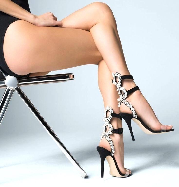 сексуальные ноги в каблуках