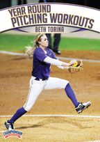 Year Round Softball Pitching Workouts - Each phase of a year round pitching program is important and has its own goals and objectives for maximizing your pitchers' abilities. Beth Torina, head coach at LSU and with the USSSA Florida Pride, guides you through the thought process for building year round workouts.