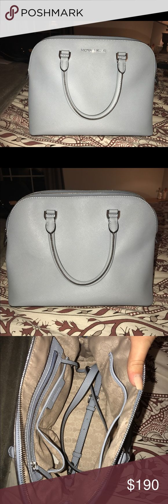 Michael Kors Satchel with Strap New without tags. Used once! Size medium. Non smoking home Michael Kors Bags Satchels