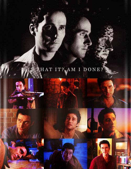 """Doyle """"Is that it? Am I done?"""" Breaks my fricking heart."""