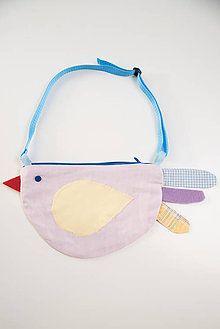 Detské tašky - kabelka sliepočka ružová - 7523531_