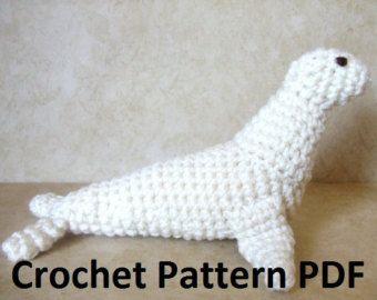 Crochet Patterns Nz : New Zealand Sea Lion Crochet Pattern knit and crochet Pinterest