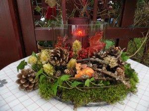 Tischdeko herbst naturmaterialien  14 besten Schöne Herbst Bastelideen Bilder auf Pinterest ...