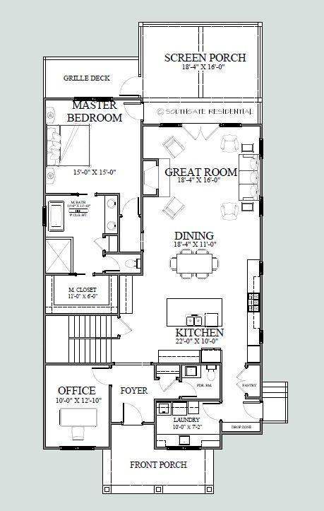 28 best House plans images on Pinterest | Narrow lot house plans ...