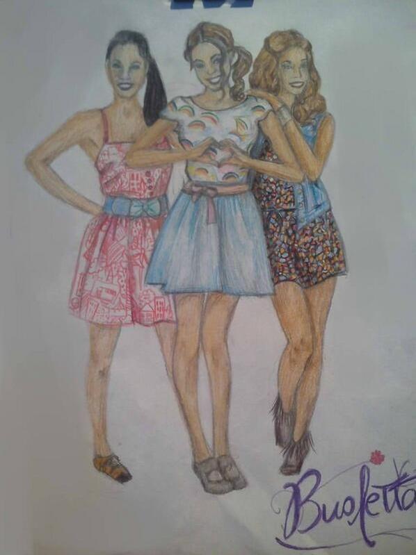dessin dun poster de violetta yassss