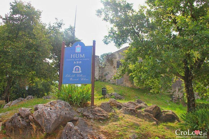 Hum, najmniejsze miasto świata http://crolove.pl/hum-najmniejsze-miasto-swiata/  #hum #chorwacja #croatia #hrvatska