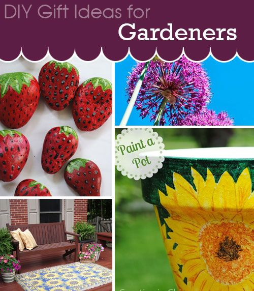 Gift Ideas For Gardners. Great Selection Of DIY Projects That Make Great  Gifts For Gardeners