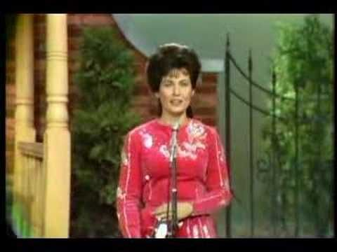 """loretta lynn """"where no one stands alone""""  I cry every time I hear her sing this song,  ...nbp"""