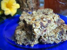 healthy granola bar recipe from Kitchen Stewardship