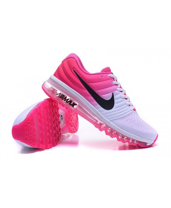designer fashion db1c4 ecb94 2019 的 Women's Nike Air Max 2017 Women White Rose | women ...