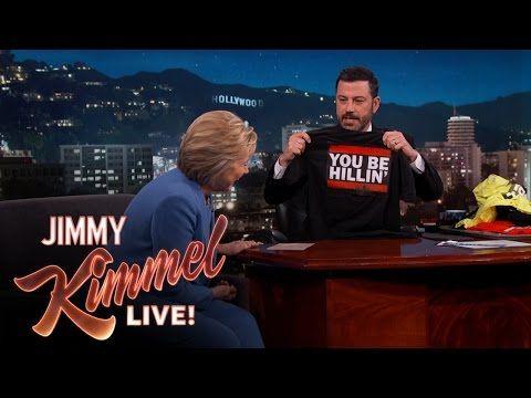 Jimmy Kimmel Live: New Hillary Clinton Campaign Slogans