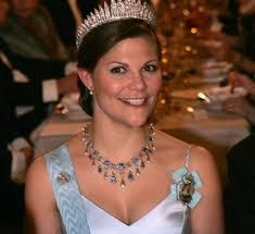 Crown Princess Victoria of Sweden future Queen daughter of King Carl Gustaf
