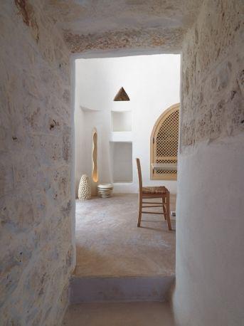 Inspiratiebeeld stenen wandafwerking  interesse in een vergelijkbare wand op maat op kleur? Molitli-interieurmakers.nl