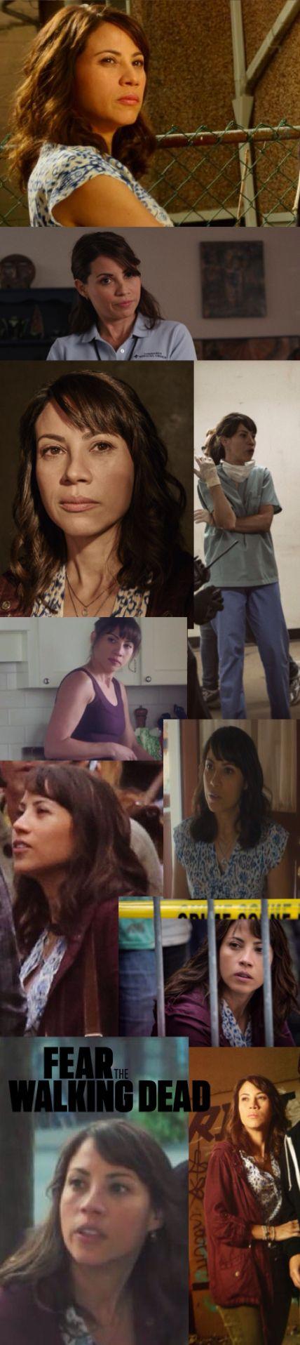 Liza Ortiz played by Elizabeth Rodriguez