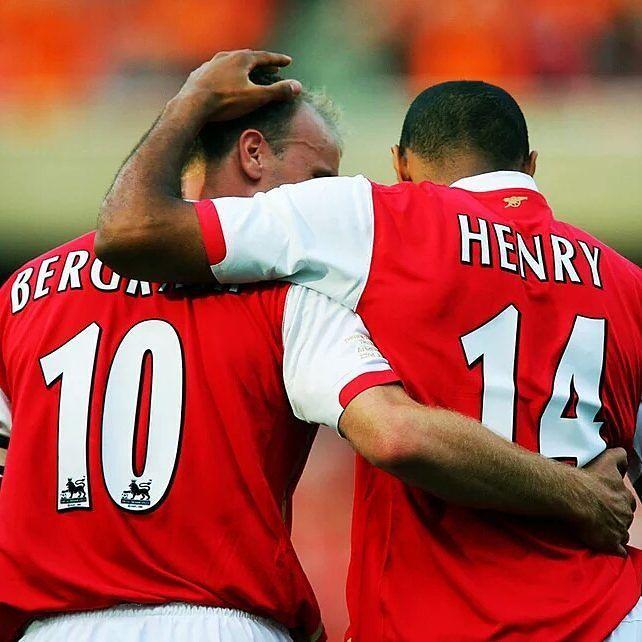 Thierry Henry: El mejor futbolista con el que jugué? Me quedo con Dennis Bergkamp.