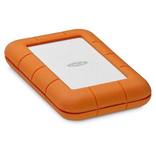 LaCie Rugged Thunderbolt USB-C 2TB Portable Hard Drive STFS2000800 …
