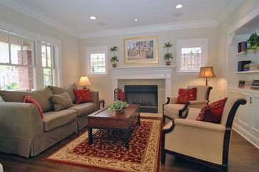 Perfect 1920s Bungalow Fireplace, Family Room   House / Family Room   Pinterest    Bungalow, Room And Room Ideas Part 8