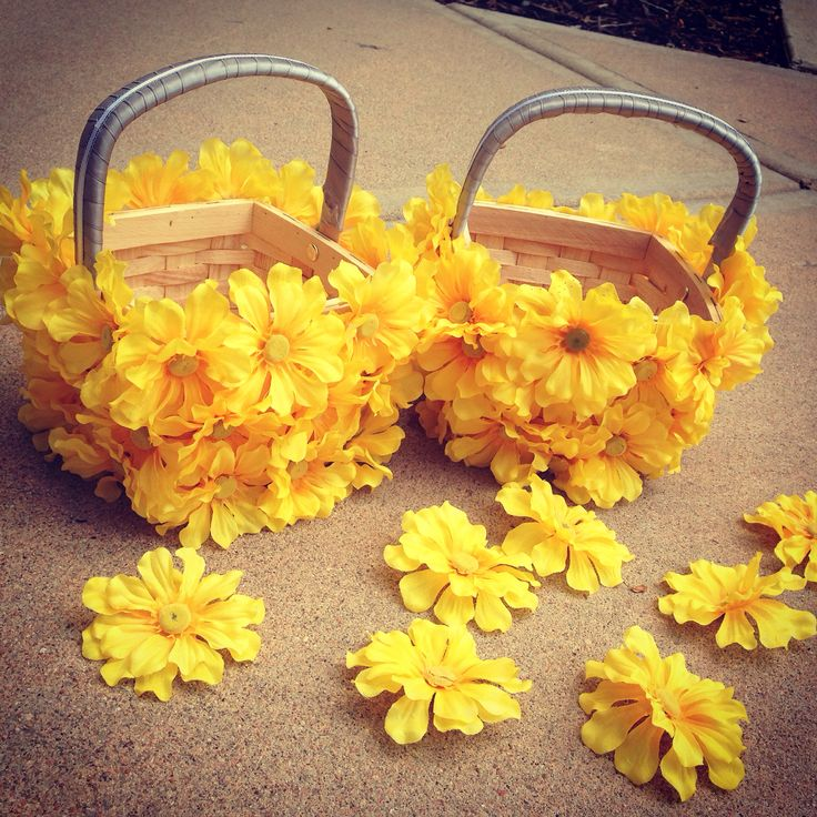 Flower Girl Baskets Diy : Flower girl baskets diy flowergirl here comes the