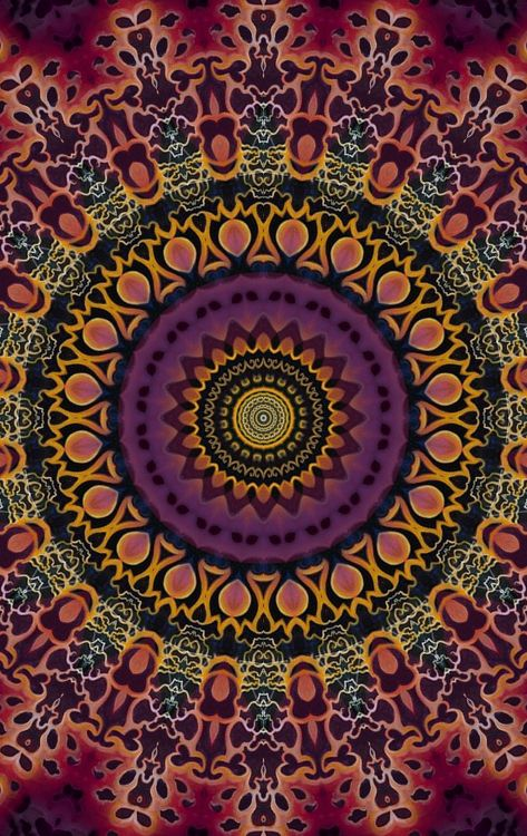 "chichiliki: "" Mandalas at society6 here Artist Tumblr here """