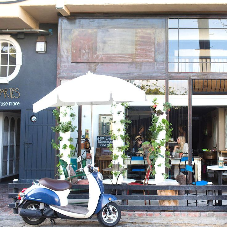 6 Secret Spots on Melrose Place in Los Angeles - Croft Alley  - from InStyle.com