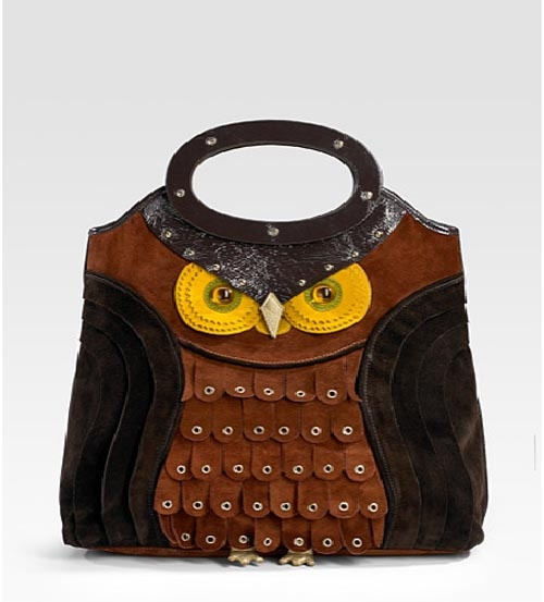 Unique Handbag From Silk Lining Materials Kate Spade Sherwood Owl