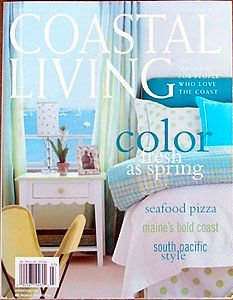 coastal living magazine | Coastal Living Magazine Photo Shoot of our DAC-ART Small Vacation Home