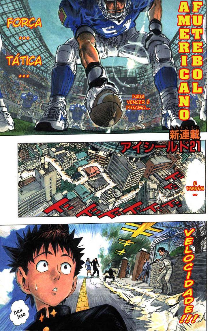 Ler mangá Capítulo 01 online Eyeshield 21 Ler mangá
