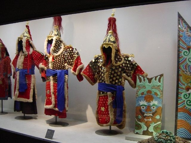 Korean armor display