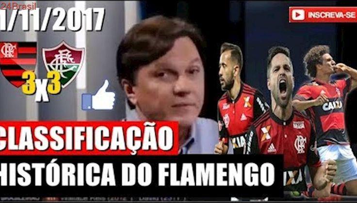 MAURO CÉSAR ANALISA A CLASSIFICAÇÃO EMOCIONATE DO FLAMENGO