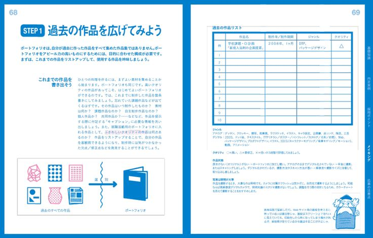 [本] ポートフォリオの教科書 ―クリエイティブ業界に就職するためのポートフォリオの作り方|ボーンデジタル