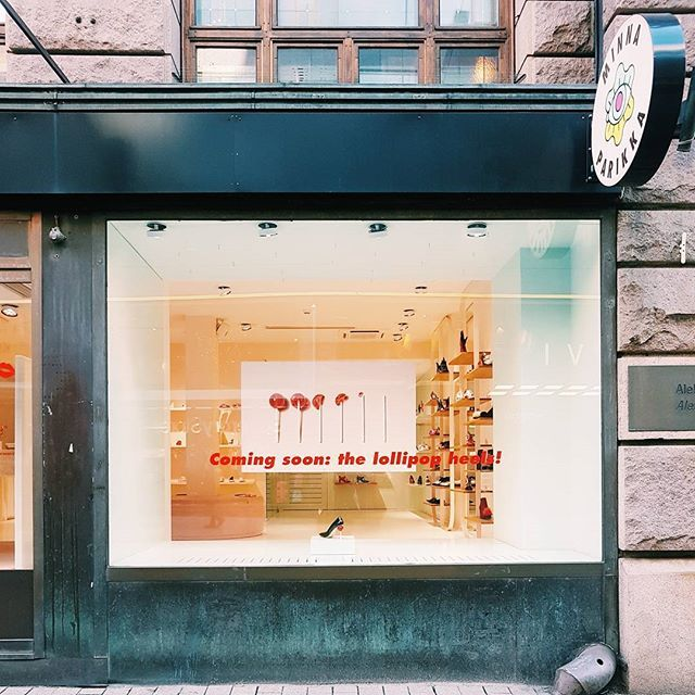 We are excited to see the new @minnaparikkashoes collection - it looks like it's going to be pretty sweet!  One of those brick 'n mortars in Helsinki you want to check once in a while - perfect stop for all daydreamers out there. . . . . . #minnaparikka #visithelsinki #visitfinland #streets #retailconcept #retailspace #shoes #design #finnishdesign #futureofretail #omnichannel #entrepreunialmindset #retail #retailexcellence #inspiredaily #inspiration #entrepreneurs #fashion #omnichannel
