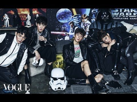 EXO's Star Wars Mania photoshoot for Vogue Magazine
