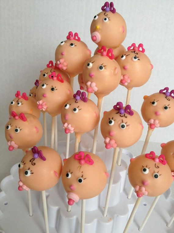 Baby doll cake pops on Etsy, $36.00