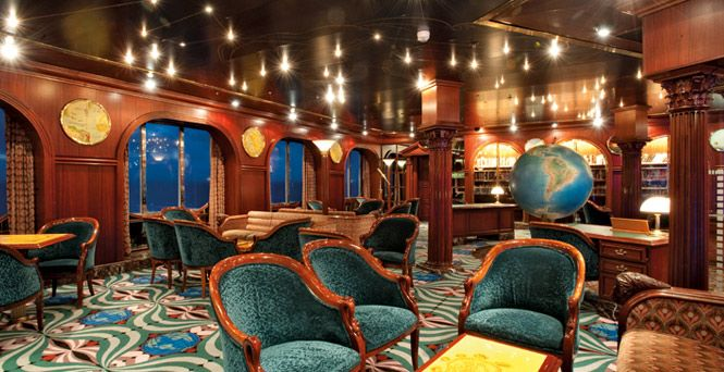 Library on the Carnival Elation! I'm a nerd and proud of it! Can't wait for our cruise. :)