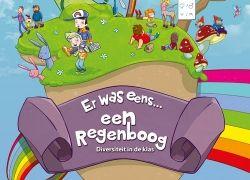 Titel  Er was eens een Regenboog : diversiteit in de klas -  Poelman, Kaj (redacteur) -  plaats 433.4