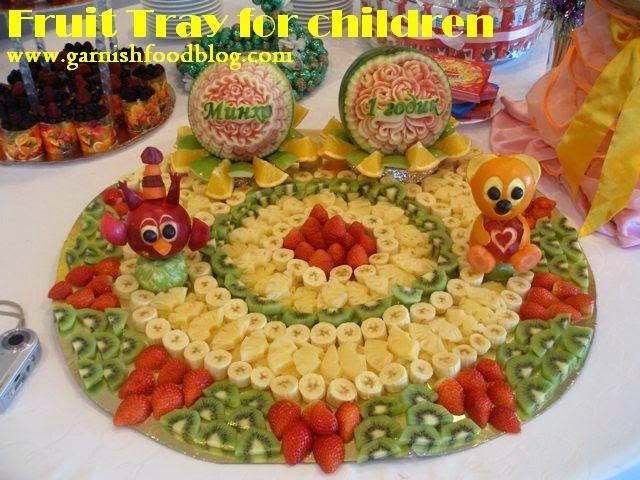 Fruit Tray Arrangements | fruit tray for a baby shower this fruit tray was made for a child boy ...