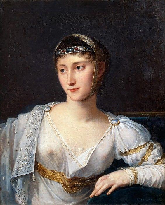 Лефевр, Робер - Мария-Полина Бонапарт (1780-1825), принцесса Боргезе. Версальский дворец. Описание картины, скачать репродукцию.