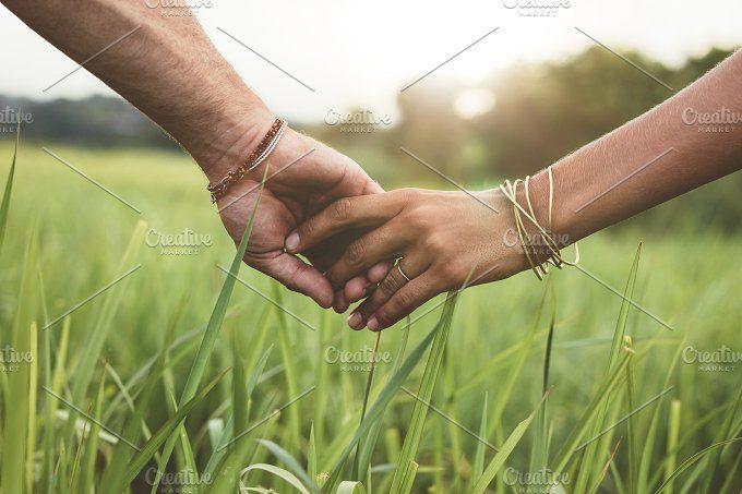 Romantic couple holding hands - People #photo #photography #stock #social #styled #image #stockimage #stockphoto #mockup #blog #blogging