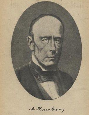 Alexandre Herculano de Carvalho e Araújo, 1810 - 1877, was a Portuguese novelist and historian.