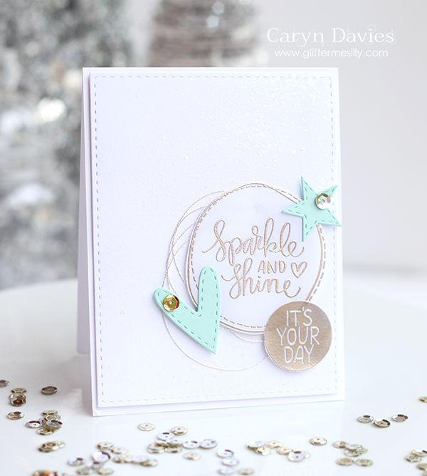 Simon Says Stamp December Card Kit - #sssfave. glittermesilly.com