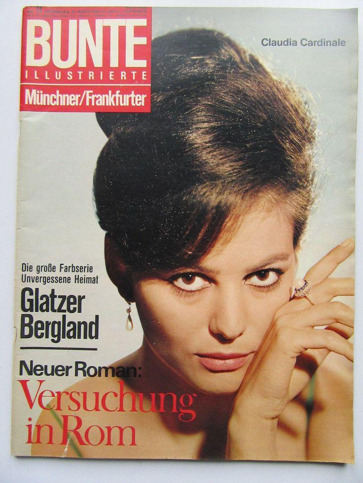 Bunte Illustrierte 11/1965, Claudia Cardinale, Sophia Loren, Willy Fritsch,   eBay