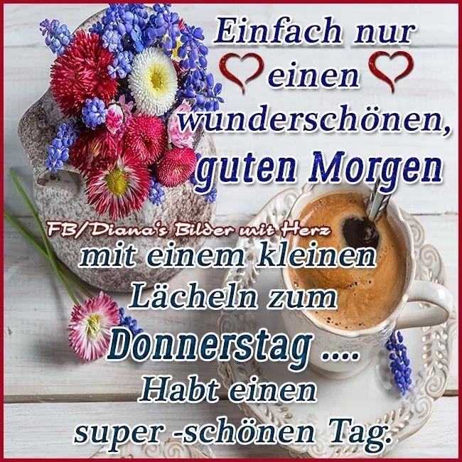 Guten Morgen Grüße Donnerstag