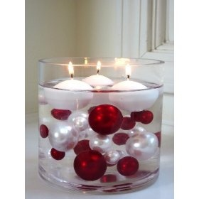 bead vase fillers for the center pieces