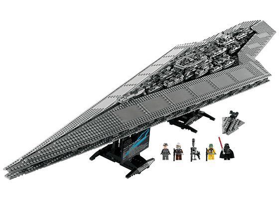 Lego Super Star Destroyer $399.99 (Over 3,000 pieces!)