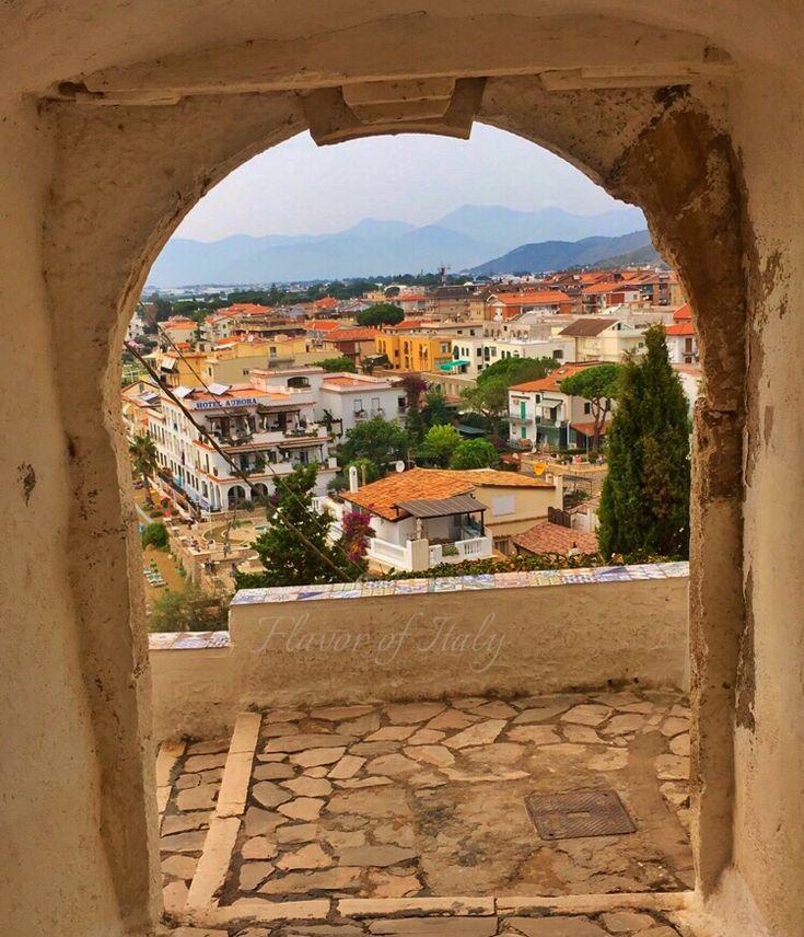 Archway views in Sperlonga