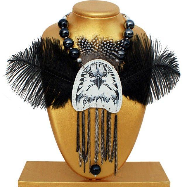 #Bird #prey #necklace #unique #bespoke #handpainted #fashion #lifestyle #accessory #designer #fashionista #dreamer #accessories #accessorize #art #artist #design #decor #flukedesign #handpaint #handcraft #handcrafted